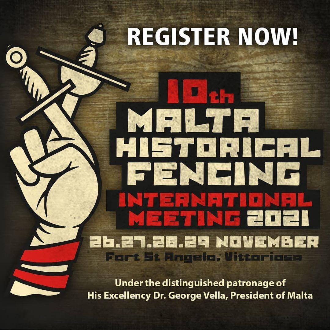10th Malta Historical Fencing International Meeting 2021